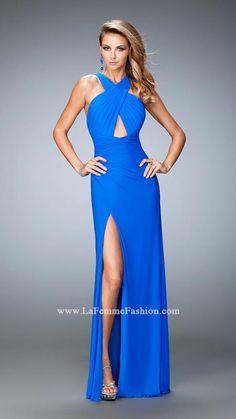 La Femme 22380 | La Femme Fashion 2015 - La Femme Prom Dresses - La Femme Short Dresses