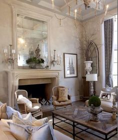 Nice French Country Living Room | French Country Living Room, Country Living  Rooms And Country Living