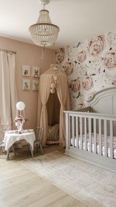 Baby Girl Nursery Decor, Baby Boy Rooms, Baby Room Decor, Baby Bedroom, Baby Girl Nurseries, Baby Girl Bedroom Ideas, Nursery Room Ideas, Tan Nursery, Baby Girl Room Themes