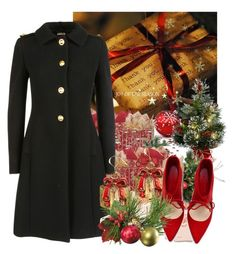 """""""Twelve Days of Christmas - Seven"""" by shellcp ❤ liked on Polyvore featuring Rifle Paper Co, Miu Miu and Zara"""