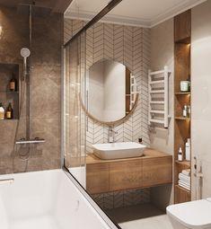 Best Bathroom Designs, Bathroom Design Luxury, Modern Bathroom Design, Home Room Design, Home Interior Design, Bathroom Design Inspiration, Amazing Bathrooms, Patterned Wall, Bowl Sink