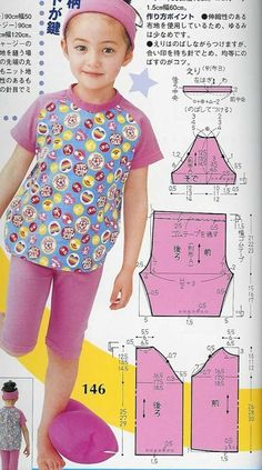 Trendy Sewing Projects For Kids Clothes Girls 36 Ideas Kids Dress Patterns, Baby Clothes Patterns, Baby Patterns, Sewing Baby Clothes, Diy Clothes, Sewing Projects For Kids, Sewing For Kids, Kids Outfits Girls, Girl Outfits