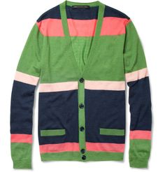 Marc Jacobs Green Cardigan