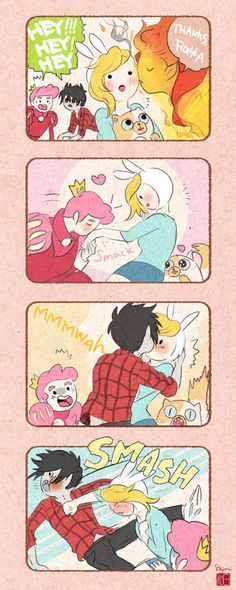 Lol I wouldn't mind if Marshall Lee did that to me hahahaha xD