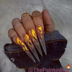 Make an original manicure for Valentine's Day - My Nails Aycrlic Nails, Hot Nails, Stiletto Nails, Manicure, Bright Summer Acrylic Nails, Best Acrylic Nails, Ongles Bling Bling, Bling Nails, Nail Swag