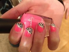 Lexi's nails I did to her