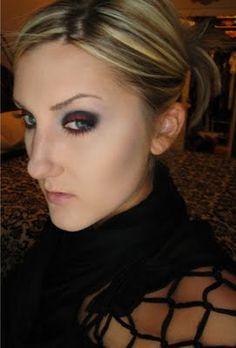 Vampire Inspired Makeup (Halloween)