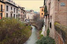 Paseo de los Tristes. Las calles más bonitas de España Granada