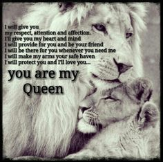 This should be every man.. make your woman your priority, let her be your queen!