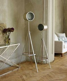 Directors Tripod Floor Lamp #Win with #Lombok #competition #industrialinteriors