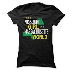 Missouri girl live in Massachusetts - #tshirt serigraphy #wrap sweater. BUY NOW => https://www.sunfrog.com/States/Missouri-girl-live-in-Massachusetts-ladies.html?68278