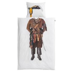 Snurk Pirate Single Bed Duvet Cover Set