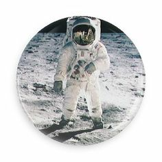Astronaut - Funny Buttons - Custom Buttons - Promotional Badges - Outer Space Pins - Wacky Buttons