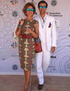 Rafa Medina y Naty Abascal