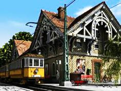Tram in the garden – the lost tracks of Zugliget Capital Of Hungary, Haunted Attractions, Heart Of Europe, Architecture Old, Budapest Hungary, Timeline Photos, Homeland, Old Photos, Old Things