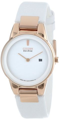 Care how you look: Citizen Women's Stainless Steel Eco-Drive Watch. For more info, click the pic.