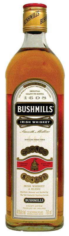 Bushmills Irish Whiskey. Don't know if it's the best there is but it's pretty good here!