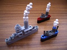 Look at these beautiful microscale ships designed in #lego