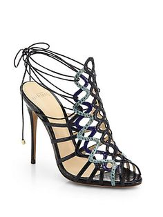a51ae39f699 Alexandre Birman - Watersnake Sandals