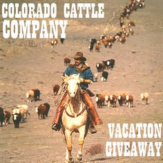 WINNER WINNER! Congratulations to Shelly from Canada for winning a free vacation for two to the #ColoradoCattleCompany for participating in our survey. Thank you to all who participated and to Colorado Cattle Company for donating the stay!