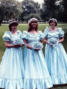 Ugly Wedding Dresses | ... the bridesmaids dress you had was ugly, check out these beauties