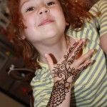 Mehndi looks the cutest when applied to kids. Mehndi designs for kids collection focus on the small, cute and very pretty mehndi designs for our exclusive kids.