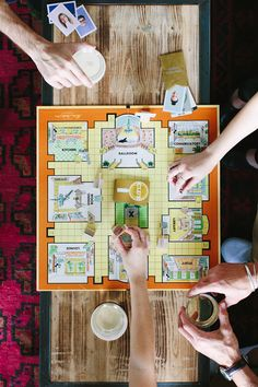 how to host a game night for adults