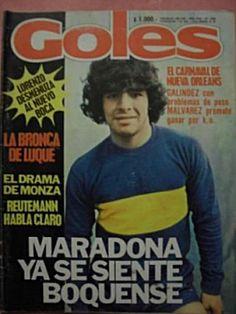 Maradona en Goles
