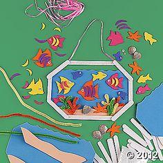 Fish Aquarium Craft Kit