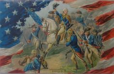 Vintage Tuck's Patriotic Postcard by buzzybea on Etsy