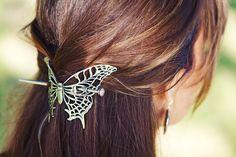Hair Stick | Butterfly | Detail