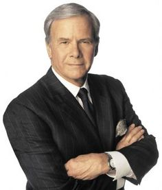Tom Brokaw - the last REAL journalist.  Never sold out.  Always fair and impartial.  The last time I trusted a journalist was the last time I heard him speak.