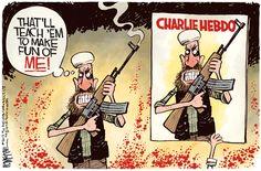 McKee cartoon: Charlie Hebdo attack