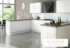Handless Kitchen Doors and Drawer by avhkitchendoors