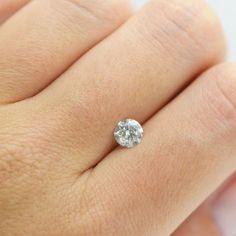 White 0.80 Carat F SI3 Round Cut Natural Loose Enhanced Diamond For Wedding Ring #MyDiamonds