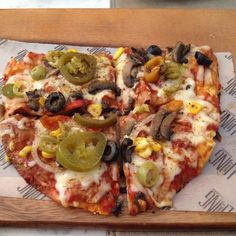 Spicy House Special Flatbread Pizza!  #LandSMumbai #LandSMenu  Courtesy : Anuja Deora
