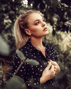Marvelous Beauty Female Portrait Photography by Jonas Jaeschke #photography #portraiture #beauty #lifestyle #fashion
