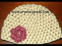 Puff Stitch Hat Pattern Instructions: http://crochetjewel.com/?p=9716 Part I Video: https://www.youtube.com/watch?v=T5DZuWOTHDE&feature=youtu.be Part II Vide...