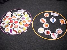 Gregory the Terrible Eater (sorting) Great activity for lesson on nutrition and good eating habits.