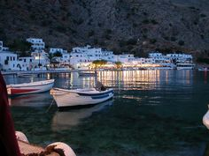 holidays guide - Hotels in Loutro village - Sfakia Crete Crete Island, Chios, Photography Illustration, Crete Greece, Greek Islands, Vacation Spots, Places To Visit, Around The Worlds, Travel