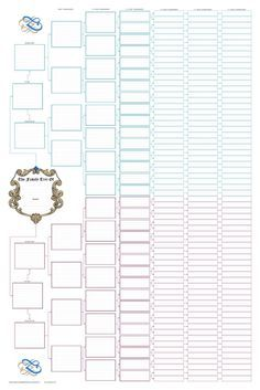 charts for family tree