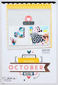 October Notes | Janna Werner for Felicity Jane