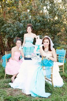 Tea Party Wedding Theme Inspiration