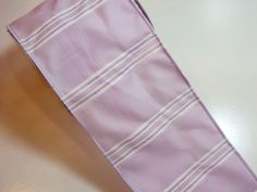 Purple Ribbon, Design Studio Felicia Wired Fabric Ribbon 4 inches wide x 10 yards, Full Bolt of Purple Stripe Ribbon by GriffithGardens on Etsy