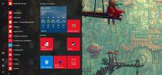 Cómo cambiar el color de énfasis solamente en la barra de tareas en Windows 10