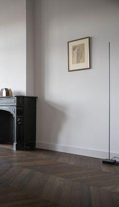 Living Room Inspiration, Interior Inspiration, Dark Wooden Floor, Love Your Home, Wooden Flooring, Living Room Interior, Living Spaces, Sweet Home, Lounge