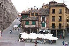Segovia.Acueducto romano .España