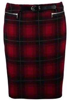 Gerry Weber Mini skirt - schwarz/ rot for Free delivery for orders over Tartan, Mini Skirts, Black, Fashion, Red Black, Moda, Black People, Mini Skirt, Fasion