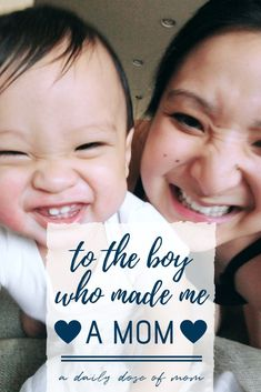 """A heartfelt letter to the little boy who made me a mom. """"Dear Son, You have changed me. You have made me a mother - the greatest role of my lifetime. Gentle Parenting, Parenting Teens, Parenting Advice, Letter To Son, Do It Yourself Baby, Thing 1, First Time Moms, Everything Baby, Mom Quotes"""