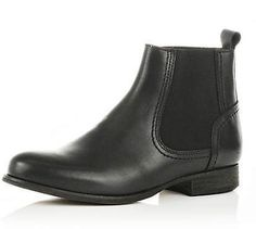 black chelsea boots - ankle boots - shoes / boots - women - River Island